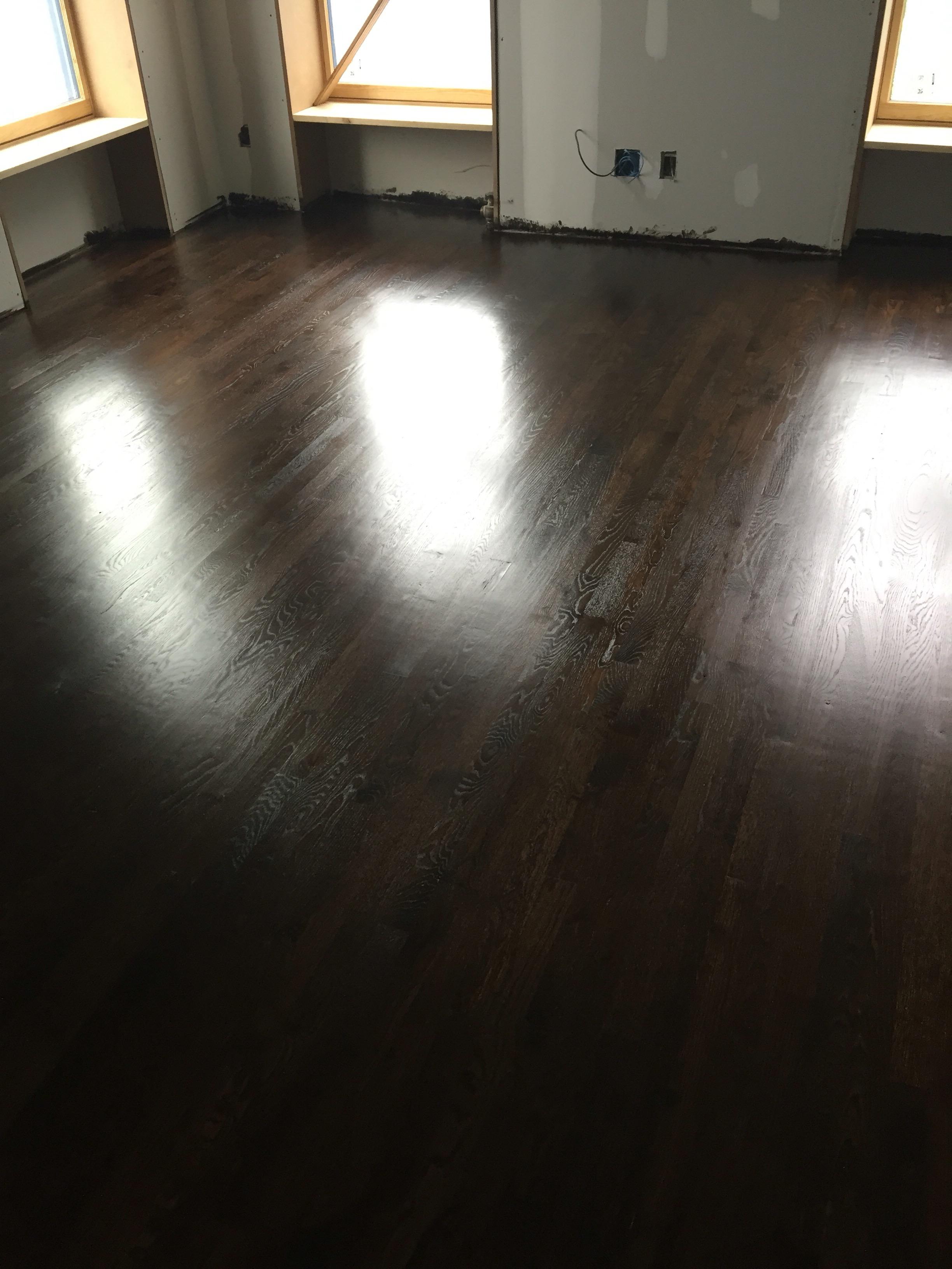 Jacobean Stain On White Oak Flooring Floor11 Inc